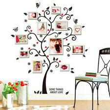 Family Tree Photo Frame Wall Sticker LivingRoom Home Vinyl Decal Decor Removable
