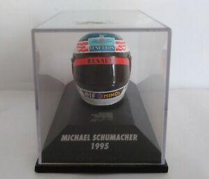 CASCO - HELMET MICHAEL SCHUMACHER 1995 MINICHAMPS SCALA 1/8