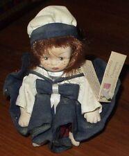 Splendida bambola CAPODIMONTE con garanzia CIARAPICA