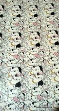 101 Dalmatians Dogs Wrapping Paper Sheet Gift Book Cover Birthday x2 Party Pets