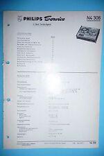 Manuel d'instructions pour Philips N SERVICE 4308, original