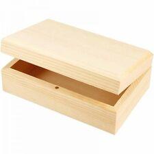 aufbewahrungsboxen f r den wohnbereich aus holz mit deckel g nstig kaufen ebay. Black Bedroom Furniture Sets. Home Design Ideas