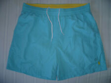 Mens RALPH LAUREN POLO Turquoise Blue Swim Shorts XXL 2XL