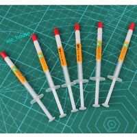 10pcs White Syringe Thermal Compound Cooling Paste Grease For CPU VGA Heatsink