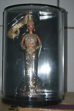 BOB MACKIE GOLD BARBIE DOLL, BOB MACKIE COLLECTION, 05405, 1990, NRFB