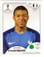 PANINI WORLD CUP 2018 KYLIAN MBAPPE STICKER NO 209
