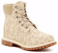 NWT Timberland Women's 6-Inch Premium Canvas Boots Floral Fabric Size 8.5 M