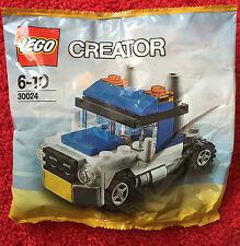 LEGO CREATOR 30024 camion età 6-10 giocattolo mattoni NUOVO E SIGILLATO Bag
