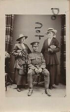 Nouvelle annonce WW1 soldier British Cavalry 15th Hussars with family