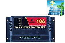 Regolatore di carica pannello solare 12-24V 10A controller ricarica pwm impianti