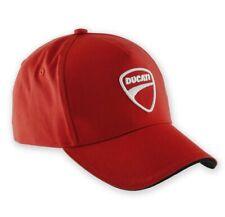Genuine Ducati Company 14 Cap, Hat, 987688705, Baseball, Official Apparel, Red