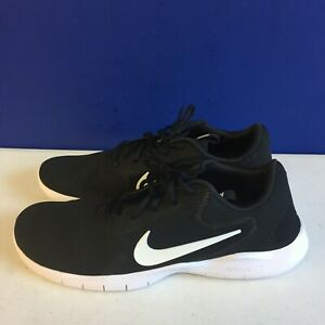 Nike Men's Flex Experience RN 9 Running Shoes Black/White CD0225-001 Size 11