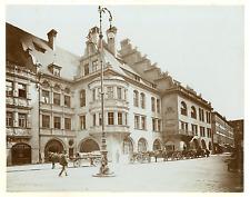 Allemagne, Munich, la Hofbräuhaus am Platzl est la plus grande brasserie de la v