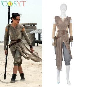 13 The Last Jedi Rey Costume For Kids 7//8 9//10 NWT DISNEY Star Wars