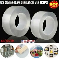Double-sided Grip Tape Traceless Washable Adhesive Nano Invisible Gel Tapes USA