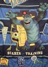 Monsters Inc University Crib Quilt~Comforter Disney Pixar 42x57