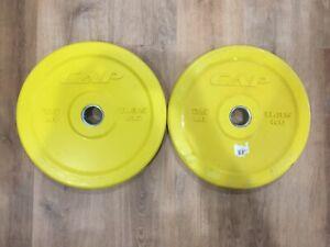 X2 25LB Cap Bumper Plates