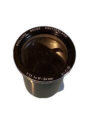 Vintage Paillard - Bolex Switzerland 17-34mm 1:1.1 Hi-Fi Projector Lens
