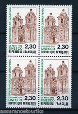 SERVICE UNESCO - 1990 YT 102 - BLOC DE 4 - TIMBRES NEUFS** LUXE