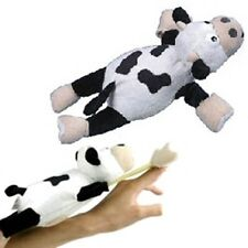 Flingshot FLYING Screaming Stuffed COW Puppy Dog Toy