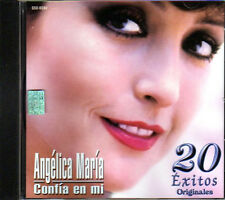 ANGELICA MARIA Confia En Mi CD con 20 de sus grandes y mejores exitos originales