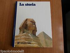 saggi GRANDI TEMI  LA STORIA    ISTITUTO GEOGRAFICO DE AGOSTINI  1977