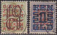 Nederland 132-133 Opruimingsuitgifte 1923   gestempeld