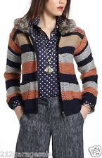 ANTHROPOLOGIE NWT NEW  Marled Latitudes Sweatercoat Jacket  Sparrow S Small