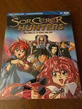 Sorcerer Hunters TV Series and OVA Blu Ray Discotek Official Release
