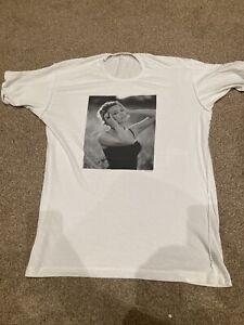 D & G - Dolce Gabbana Kylie Minogue T Shirt - Size 52