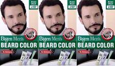 Bigen Mens Beard Colour B102 Brown Black x pack of 3