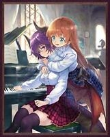 Manaria Friends I with bonus serial code Blu-ray JAPANESE EDITION