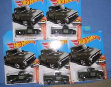 HOT WHEELS 2017 J SERIES***CUSTOM 56 FORD TRUCK**LOT OF 5