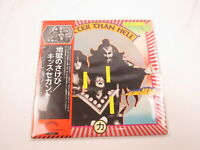 Kiss Hotter Than Hell VIP-6340  with OBI Japan VINYL  LP