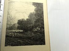 Vintage C 1910 book print Great Hampden Park by F Griggs