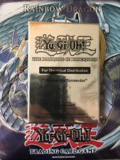 Yugioh Sealed Obelisk The Tourmentor MVPC Theatre Distribution Card