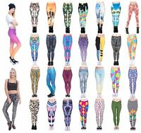 Kukubird Stretchable Multi Patterns Women's Gym and Fitness Leggings