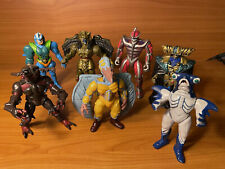 8? EVIL SPACE ALIENS LOT - MMPR MIGHTY MORPHIN POWER RANGERS - BANDAI 1993 - 96