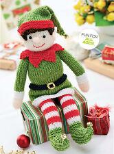 christmas elf toy dk knitting pattern