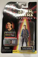 NEW Star Wars Padme Naberrie with Pod Race View Screen Collection 1 Hasbro 1998