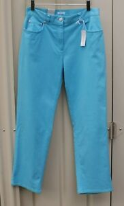JONES NEW YORK SPORT blue stretchy slim leg trousers size 8 -10