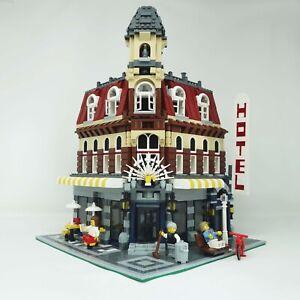 Lego 10182 Modular Building Cafe Corner ~ 100% Lego pieces with Minifigures.