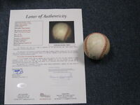 "Sandy Koufax Autographed Baseball ""To George"" JSA Certified"