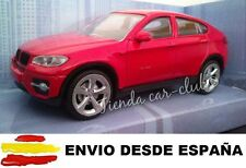 1/43 BMW X6 ROJO COCHE DE METAL ESCALA COLECCION DIE CAST ENVIO CERTIFICADO