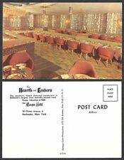 Old Postcard - Rochester, New York - Hearth and Embers Restaurant, Manger Hotel