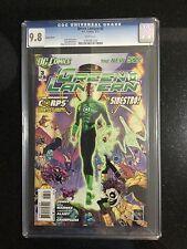 GREEN LANTERN # 3 / New 52! / CGC 9.8 / VARIANT COVER / January 2012 / DC COMICS