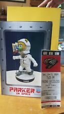 Fresno Grizzlies Parker In Space Sga Bobblehead In Hand +bonus