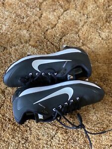 NEW Nike Air Flywire Men's Max Air Metal Baseball Cleats Size 12 - Black