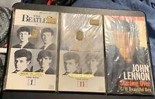 "👽 Young Beatles [I] [II] & John Lennon 3"" Inch CD Singles made in Japan 👽"