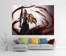 BLEACH ICHIGO GETSUGA TENSHOU FINAL GIANT WALL ART PRINT POSTER H139